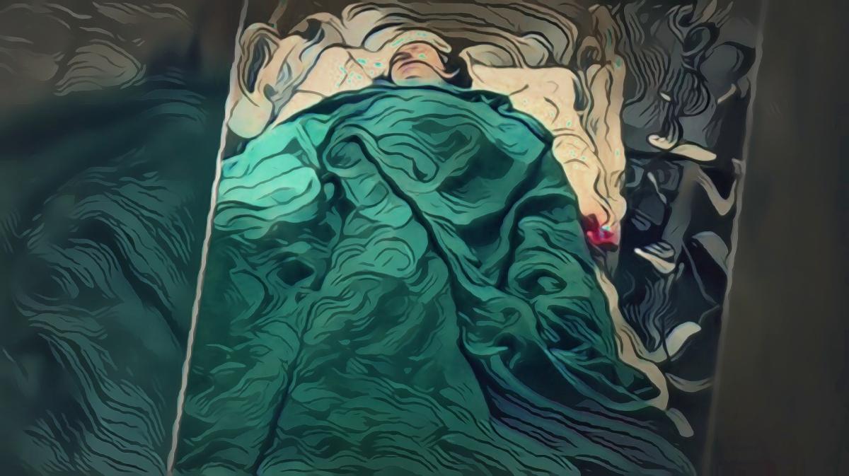 """""""Remembering Linden,"""" original digital illustration of autistic Linden Cameron, shot by police on mental health check, Utah, 9/4/2020."""