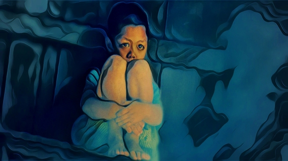 """Photo. """"Not My Friend,"""" Low-resolution version of original digital illustration for """"Not Everyone Was My Friend: Sexual Assault & An Autistic Life, Part 1"""". (c) 2021 John M. Knapp, Creative Commons, Non-Commercial Usage. High-resolution wallpaper & poster files free to premium subscribers."""